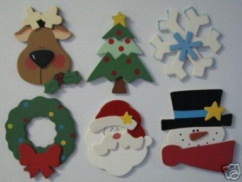 Decoracion De Navidad En Foami ~   fazer esses lindos cart?es de Natal em EVA (foto divulga??o