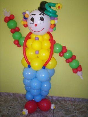 Arte com balões passo a passo