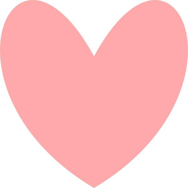 moldes de coração desenho