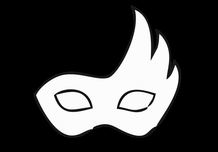 desenhos de máscaras