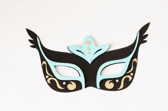 máscaras de carnaval femininas