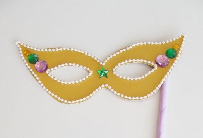 Molde Para Imprimir De Laco Lonita De Cilicone: Máscaras De Carnaval: Passo A Passo, Moldes E Ideias
