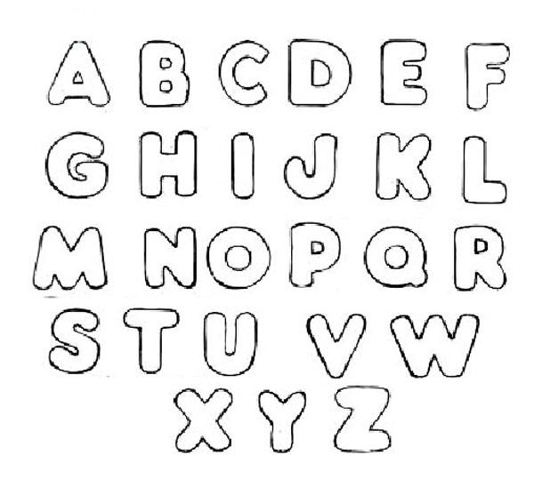 moldes de letras em eva para baixar