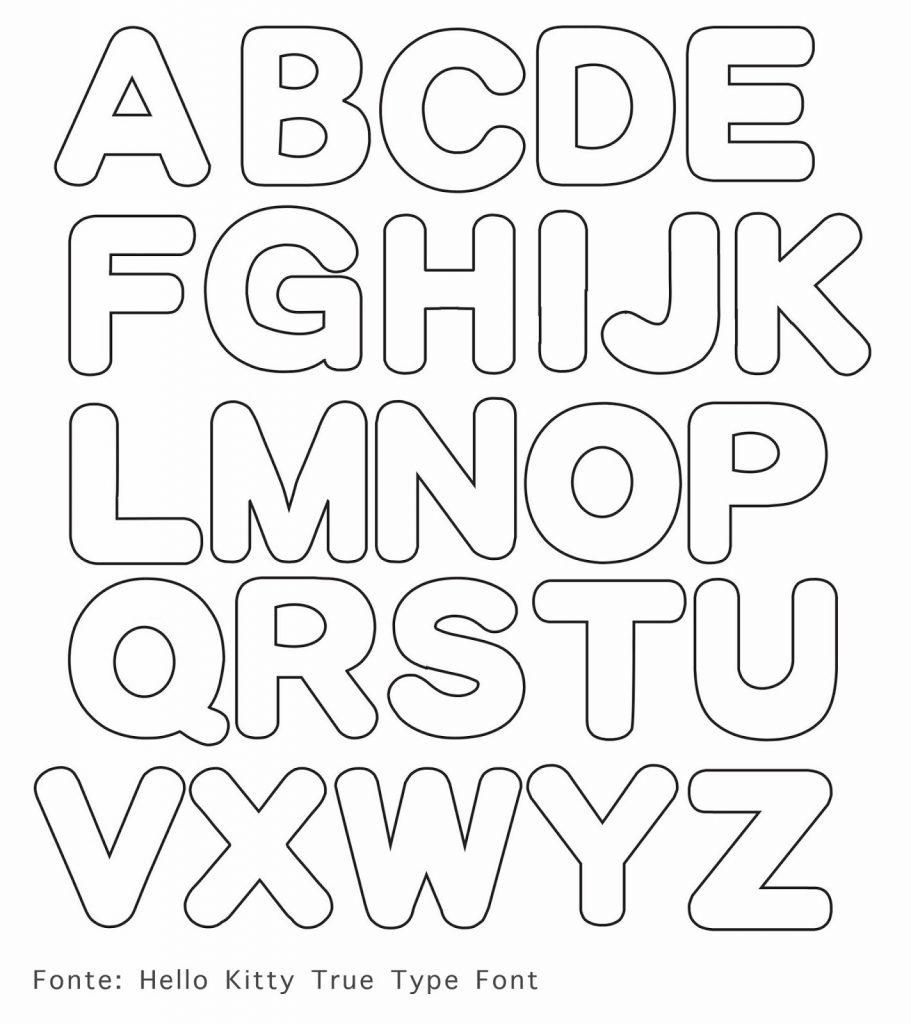 molde de letras em eva passo a passo