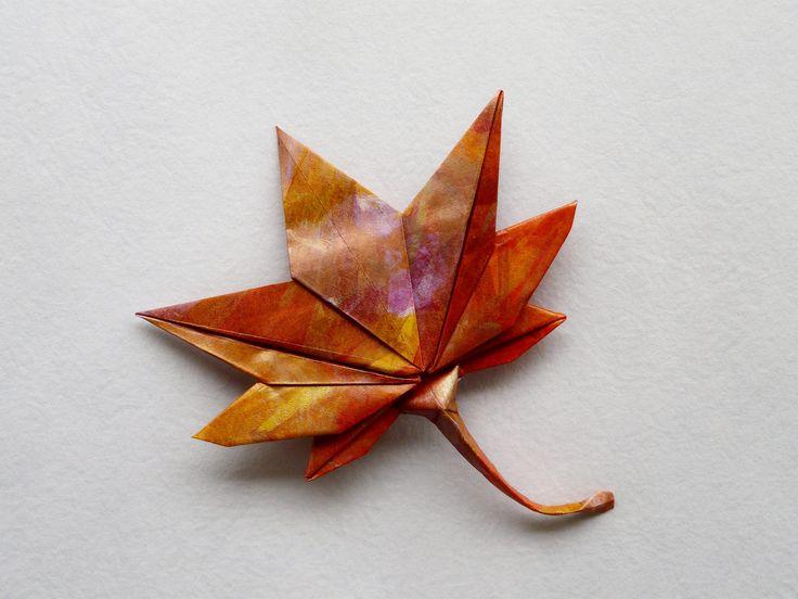 origami de folha