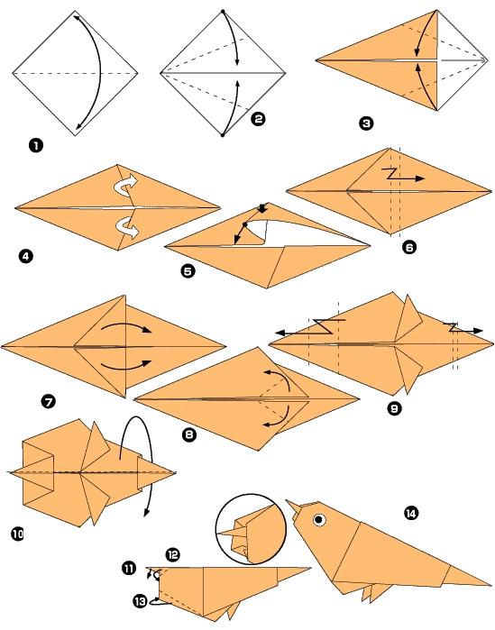 Fabuloso Dobraduras de papel passo a passo - Artesanato Passo a Passo! GI33