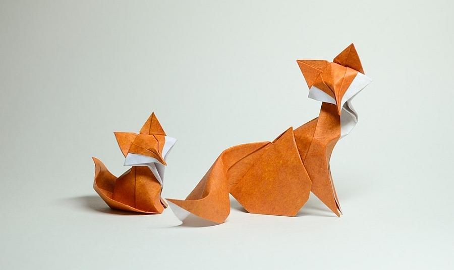 raposinha origami