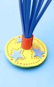 como fazer uma peteca de brinquedo
