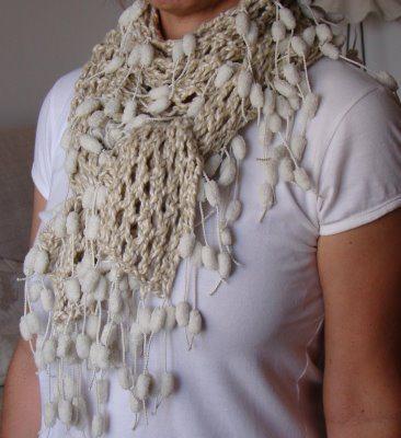 Receita de cachecol de tricô fácil - Artesanato Passo a Passo! d28657eb05e