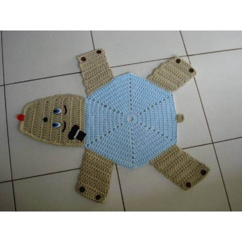 manual de confecção de tapetes infantis em crochê