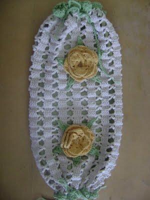 Modelos de puxa-saco de crochê artesanal