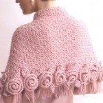Pelerine rosa-foto