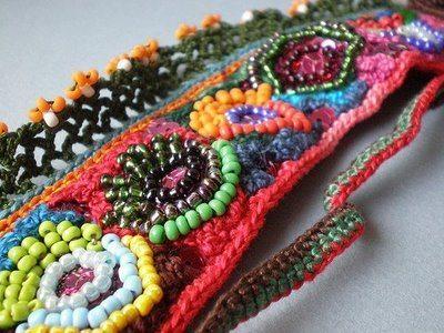 Crochet Needle Work : Artesanato hippie passo a passo - Artesanato passo a passo!