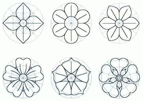 Modelos De Flores Para Imprimir Artesanato Passo A Passo