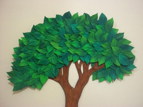 árvore em eva para parede