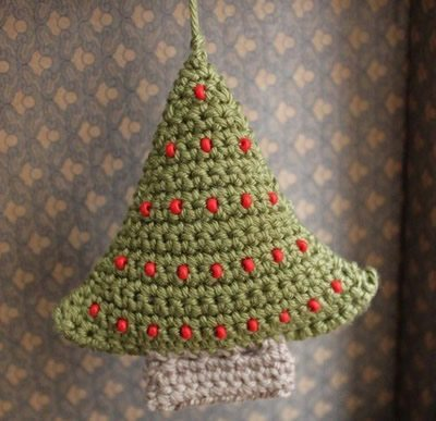 Árvore de Natal em Crochê 4 Árvore de natal de crochê passo a passo