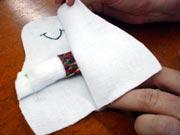 Banco de Neve 10 Boneco de neve de tecido e feltro passo a passo