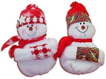 Boneco de Neve Boneco de neve de tecido e feltro passo a passo