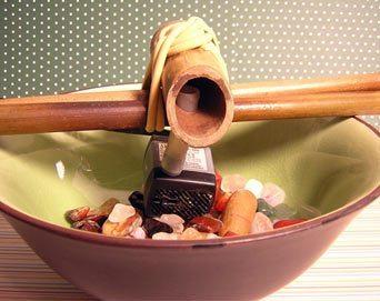 Como Fazer Fonte Japonesa 10 Como fazer uma fonte de bambu passo a passo
