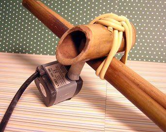 Como Fazer Fonte Japonesa 8 Como fazer uma fonte de bambu passo a passo