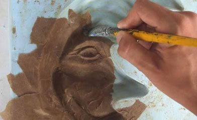 como fazer esculturas de papel