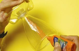 Garrafa PET Taça 5 Como fazer taça de garrafa pet