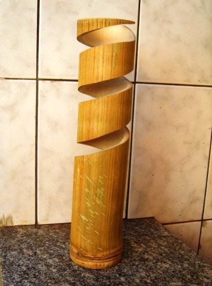 Artesanato Com Garrafa Pet Para Pascoa ~ Como fazer luminária de PVC passo a passo Artesanato