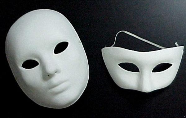 Como Fazer Máscara De Papel Machê Artesanato Passo A Passo