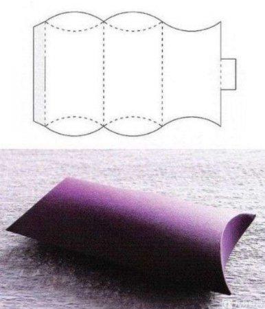 caixa de presente simples