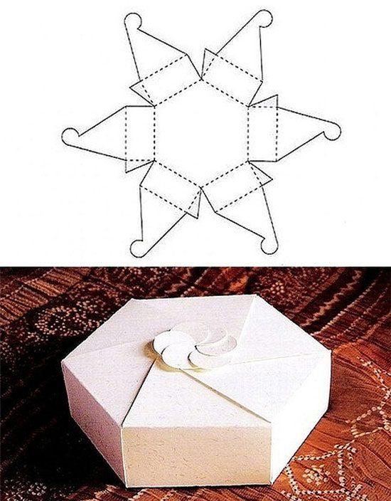 caixa de presente diferente