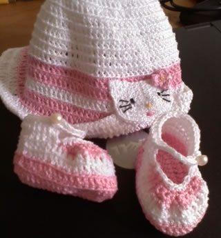Como fazer chapéu de crochê para bebê passo a passo - Artesanato ... e0617eccf0b