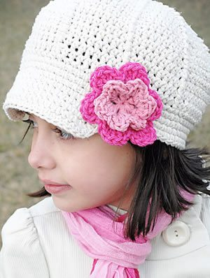 Como fazer chapéu de crochê para bebê passo a passo - Artesanato ... 6b21b728fb0