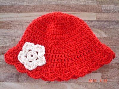 Como fazer chapéu de crochê para bebê passo a passo - Artesanato ... 4058553b8ef