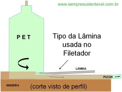 Filetador 5 Como fazer um filetador de garrafa PET