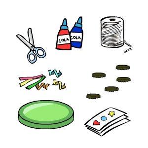 Como fazer um Pandeiro 2 Como fazer um pandeiro com material  reciclável