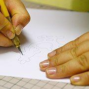 Galo Kirigami 1 Como fazer artesanato em Kirigami passo a passo