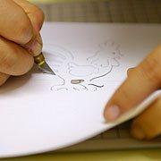 Galo Kirigami 2 Como fazer artesanato em Kirigami passo a passo