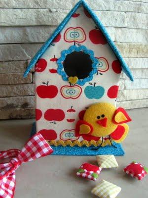 Casa de Passarinho 1 Como fazer casinha de passarinho com caixa de leite