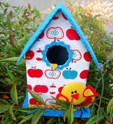 Casa de Passarinho 12 Como fazer casinha de passarinho com caixa de leite