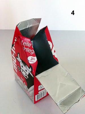 Casa de Passarinho 5 Como fazer casinha de passarinho com caixa de leite