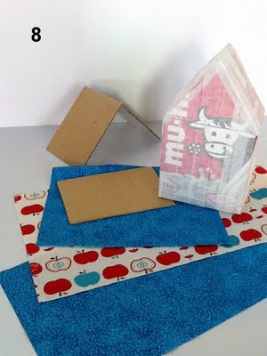 Casa de Passarinho 9 Como fazer casinha de passarinho com caixa de leite