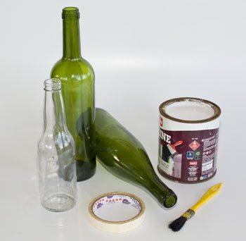 Garrafas Decoradas 2 Como reciclar garrafas de vidro