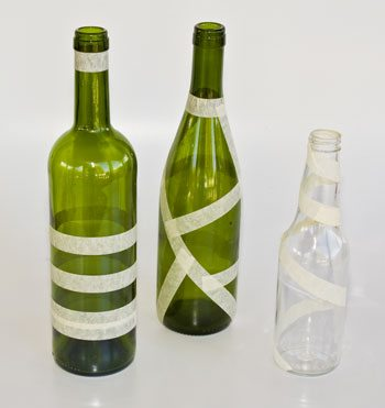 Garrafas Decoradas 3 Como reciclar garrafas de vidro