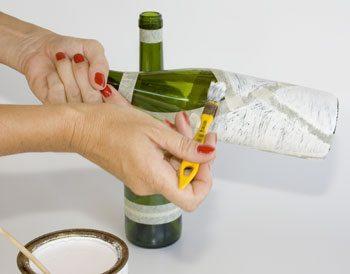 Garrafas Decoradas 4 Como reciclar garrafas de vidro
