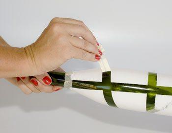 Garrafas Decoradas 5 Como reciclar garrafas de vidro