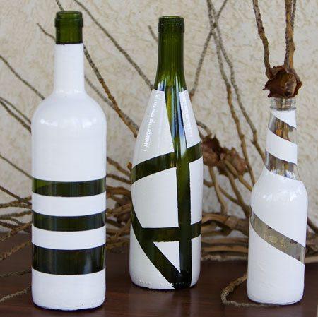 Garrafas Decoradas 6 Como reciclar garrafas de vidro