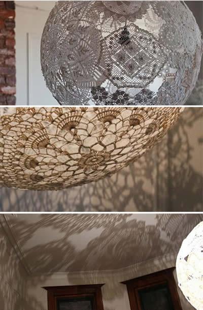 lumin ria de croch passo a passo artesanato passo a passo. Black Bedroom Furniture Sets. Home Design Ideas