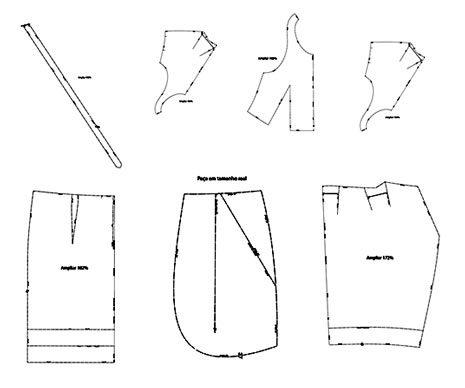 Moldes de ropa para imprimir gratis - Imagui