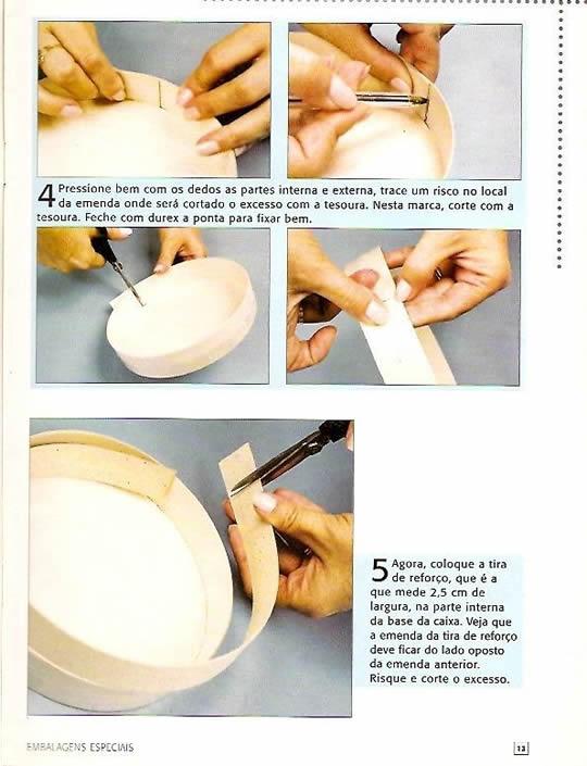 Artesanato Com Papel Parana ~ Como fazer caixa de papel paraná passo a passo Artesanato Passo a Passo!