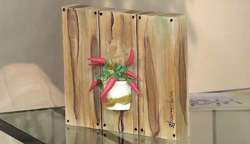 Como fazer pintura que imita madeira de demolição